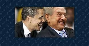 Image result for Obama and George Soros